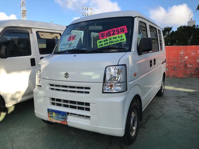 沖縄の中古車 スズキ エブリイ 車両価格 33万円 リ済込 2012(平成24)年 17.7万km スペリアホワイト