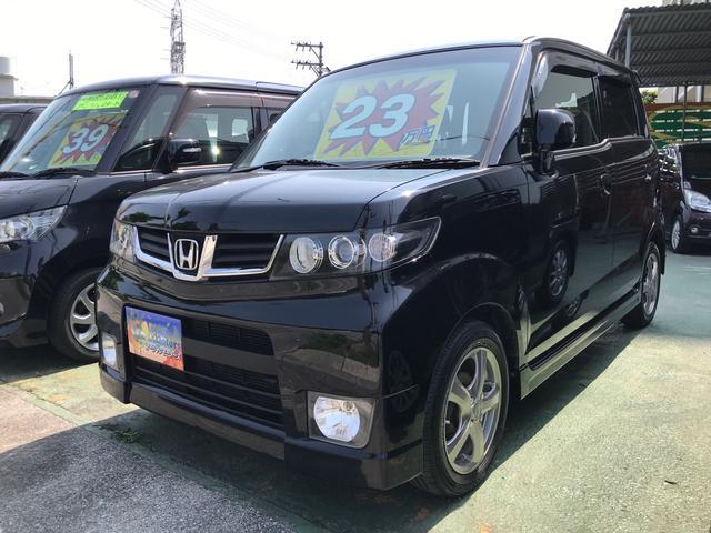 沖縄県の中古車ならゼストスパーク W スマートキー キーフリースタート ベンチシート CD 社外アルミ ディスチャージヘッドライト