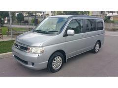 沖縄の中古車 ホンダ ステップワゴン 車両価格 19万円 リ済込 平成15年 9.7万K シルバー