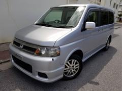 沖縄の中古車 ホンダ ステップワゴン 車両価格 25万円 リ済込 平成15年 9.1万K シルバー