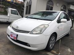 沖縄の中古車 トヨタ プリウス 車両価格 59万円 リ済別 平成21年 8.4万K スーパーホワイトII