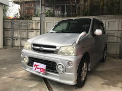 沖縄の中古車 ダイハツ テリオスキッド 車両価格 10万円 リ済別 平成13年 13.7万K シルバー