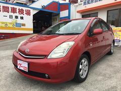 沖縄の中古車 トヨタ プリウス 車両価格 69万円 リ済別 平成18年 7.7万K ワインレッド