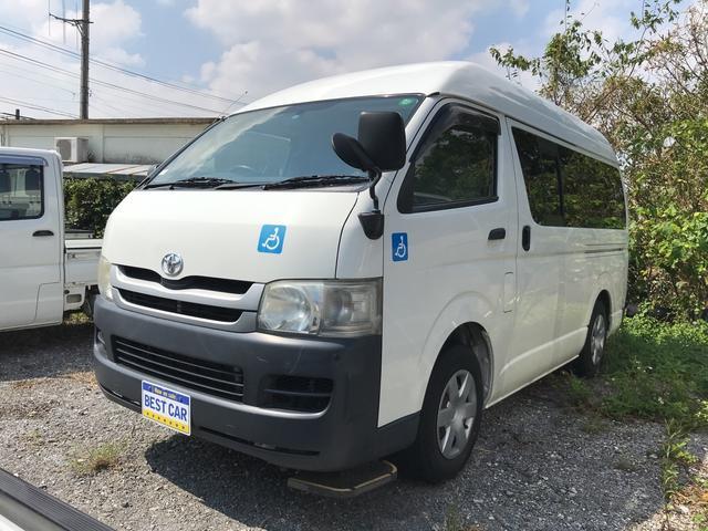 沖縄県の中古車ならハイエースバン ロングDX 福祉車両