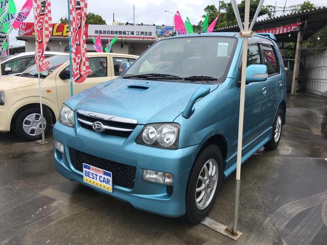 沖縄の中古車 ダイハツ テリオスキッド 車両価格 39万円 リ済込 2007(平成19)年 7.5万km ブルー
