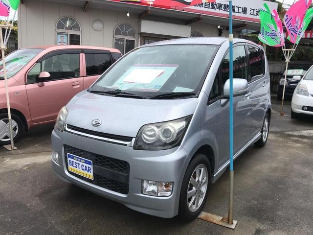 沖縄の中古車 ダイハツ ムーヴ 車両価格 29万円 リ済込 2008(平成20)年 8.9万km シルバー