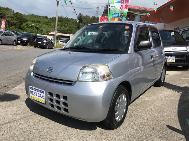 沖縄の中古車 ダイハツ エッセ 車両価格 25万円 リ済込 2010(平成22)年 5.6万km シルバー
