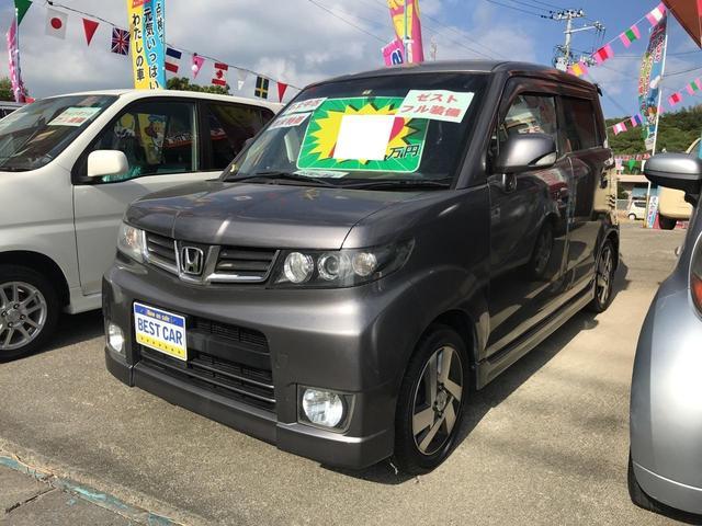 沖縄の中古車 ホンダ ゼストスパーク 車両価格 19万円 リ済込 2010(平成22)年 20.0万km グレー