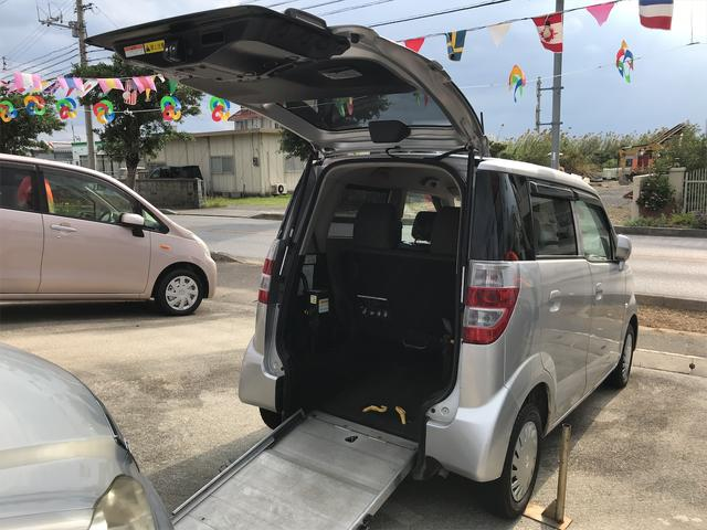 沖縄県の中古車ならゼスト D スローパー 福祉車両