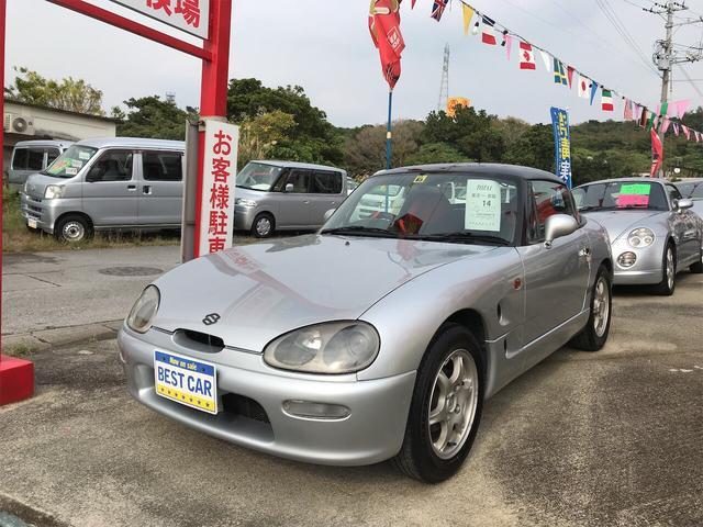 沖縄の中古車 スズキ カプチーノ 車両価格 79万円 リ済込 1997(平成9)年 15.2万km シルバー