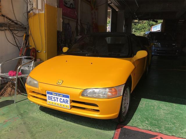 沖縄の中古車 ホンダ ビート 車両価格 ASK リ済込 1991(平成3)年 11.3万km イエロー