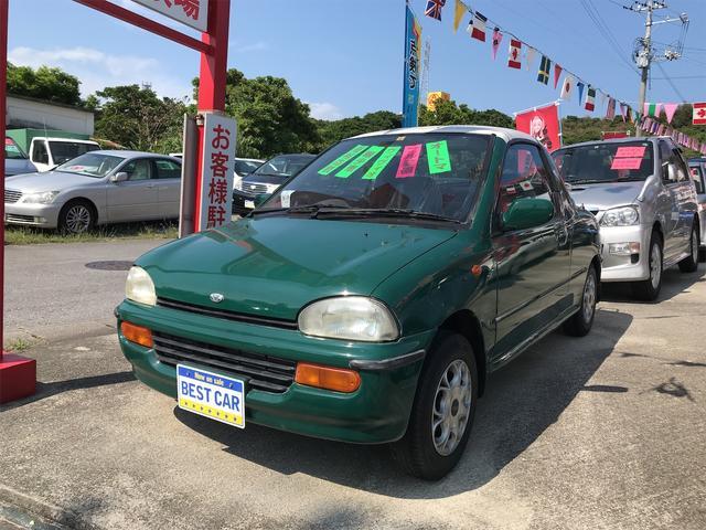 沖縄の中古車 スバル ヴィヴィオ 車両価格 ASK リ済込 1993(平成5)年 11.7万km グリーン