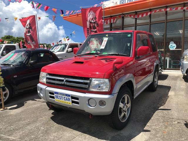 沖縄の中古車 三菱 パジェロミニ 車両価格 39万円 リ済込 2006(平成18)年 12.0万km レッド