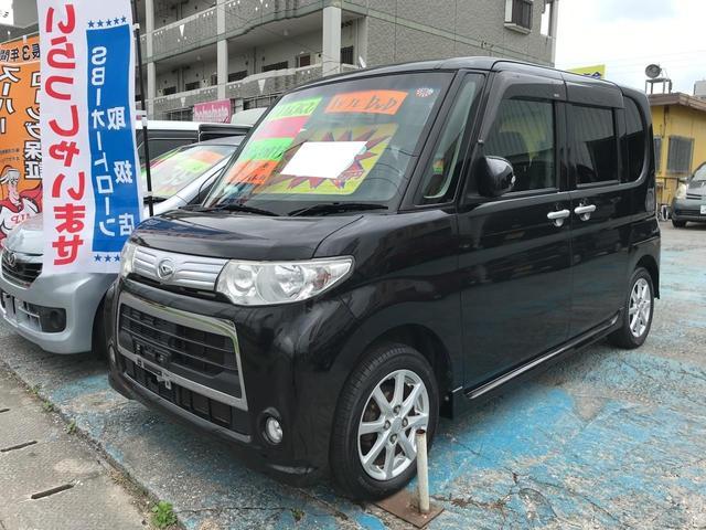 沖縄県の中古車ならタント カスタムX フルセグHDDナビ