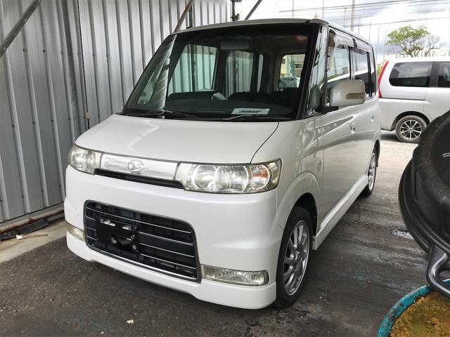 沖縄県の中古車ならタント カスタムVS 純正アルミ パワーステアリング パワーウィンドウエアコン