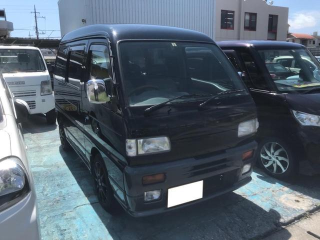 沖縄県沖縄市の中古車ならスクラム スタンドオフターボ 社外アルミ エアコン パワーウィンドウ パワーステアリング