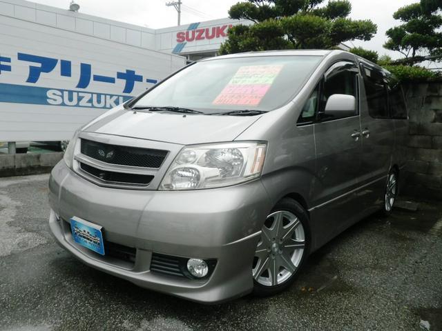 沖縄県の中古車ならアルファードV MS プレミアム アルカンターラバージョン