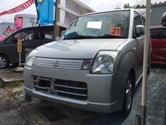沖縄の中古車 スズキ アルト 車両価格 32万円 リ済込 平成21年 3.8万K シルキーシルバーメタリック
