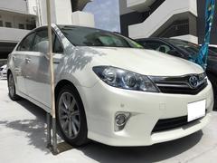 沖縄の中古車 トヨタ SAI 車両価格 85万円 リ済込 平成22年 9.8万K ホワイトパールクリスタルシャイン