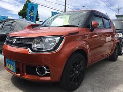 沖縄の中古車 スズキ イグニス 車両価格 109万円 リ済込 平成29年 0.4万K オレンジ