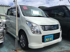 沖縄の中古車 スズキ ワゴンR 車両価格 62万円 リ済込 平成23年 1.6万K パールホワイト