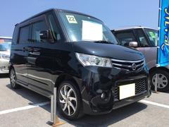 沖縄の中古車 日産 ルークス 車両価格 60万円 リ済込 平成22年 7.2万K ブルーイッシュブラックP