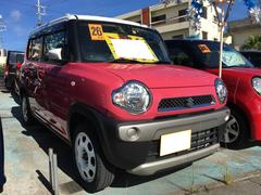 沖縄の中古車 スズキ ハスラー 車両価格 95万円 リ済込 平成26年 1.6万K ピンクM