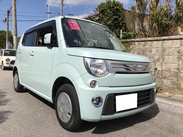 沖縄の中古車 スズキ MRワゴン 車両価格 59万円 リ済込 平成23年 2.9万km アロマティックアクアメタリック