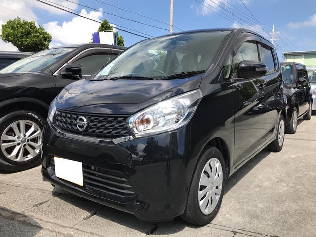 沖縄の中古車 日産 デイズ 車両価格 62万円 リ済込 平成25年 2.4万km ブラックP