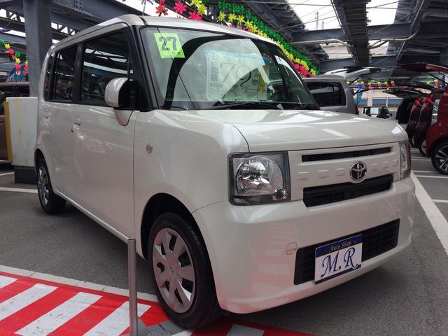 沖縄の中古車 トヨタ ピクシススペース 車両価格 72万円 リ済込 平成27年 3.4万km パールホワイトIII