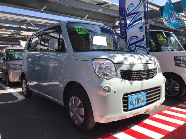 沖縄の中古車 日産 モコ 車両価格 49万円 リ済込 平成24年 2.0万km アロマティックアクアM