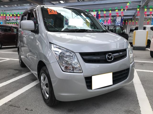 沖縄の中古車 マツダ AZワゴン 車両価格 36万円 リ済込 2009(平成21)年 10.5万km シルキーシルバーメタリック
