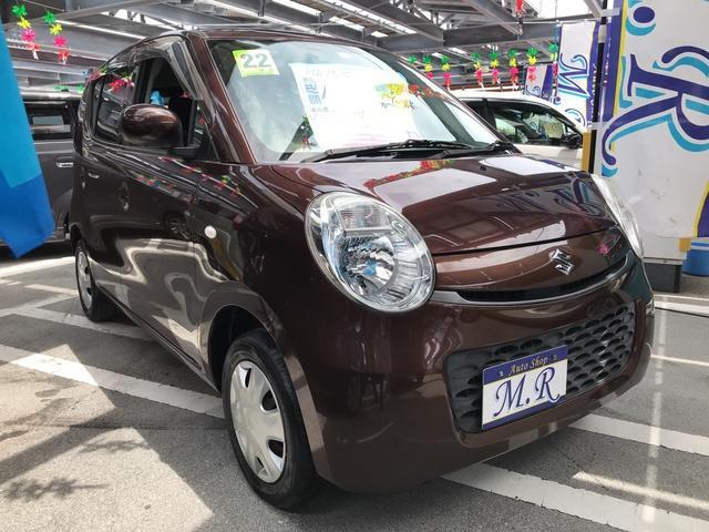 沖縄の中古車 スズキ MRワゴン 車両価格 39万円 リ済込 2010(平成22)年 6.7万km マルーンブラウンパール