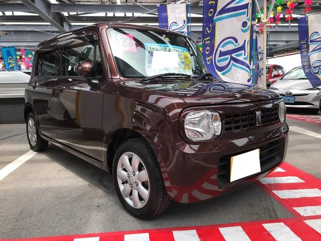 沖縄の中古車 スズキ アルトラパン 車両価格 65万円 リ済込 平成23年 4.4万km マルーンブラウンパール