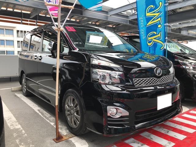 沖縄県の中古車ならヴォクシー ZS 煌 両側電動スライドドア AW ナビ 保証 ETC