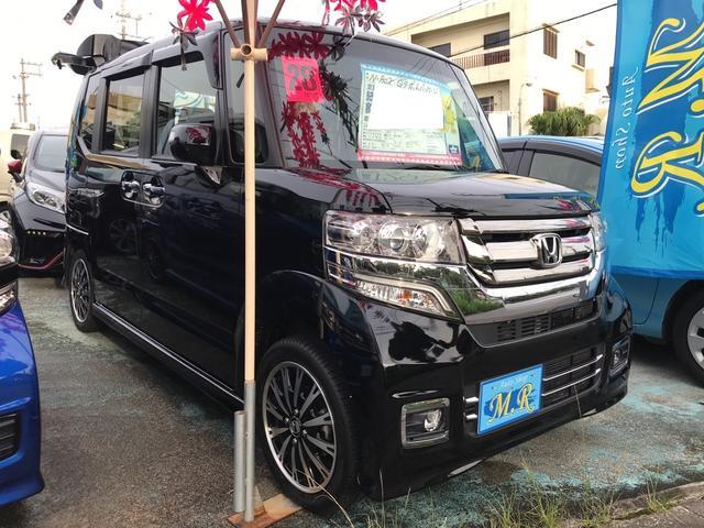 沖縄県の中古車ならN-BOXカスタム G・ターボLパッケージ