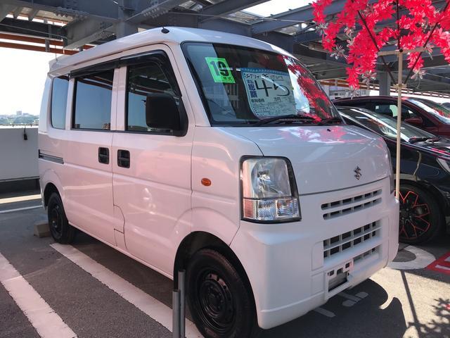 沖縄県の中古車ならエブリイ PC ハイルーフ 軽自動車 スペリアホワイト 車検整備付