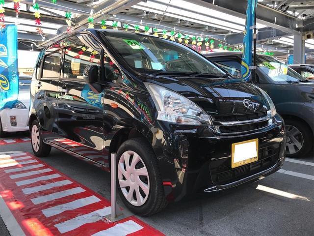 沖縄の中古車 ダイハツ ムーヴ 車両価格 35万円 リ済込 2012(平成24)年 9.8万km ブラックマイカメタリック