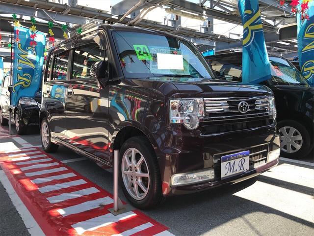 沖縄県の中古車ならピクシススペース カスタム G ナビ 軽自動車 プラムブラウンクリスタルマイカ