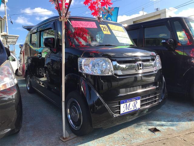 沖縄県の中古車ならN-BOXスラッシュ X ナビ 衝突被害軽減システム AC 4名乗り CVT