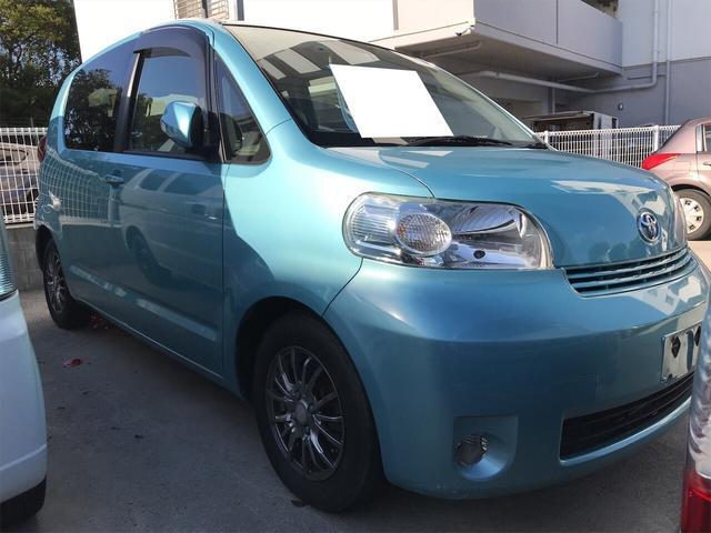 トヨタ ポルテ 150r Gパッケージ サイドリフトアップ