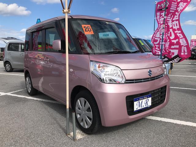 沖縄県沖縄市の中古車ならスペーシア X レーダーブレーキサポート アイドリングストップ