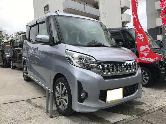 沖縄県の中古車ならeKスペースカスタム カスタムT