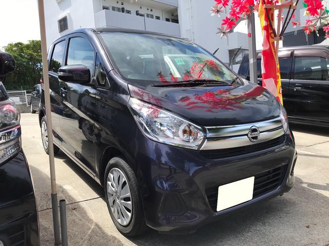 沖縄の中古車 日産 デイズ 車両価格 69万円 リ済込 2015(平成27)年 2.5万km プレミアムパープルP