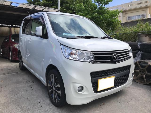沖縄県の中古車ならフレアカスタムスタイル XT ターボ スマートキー プッシュスタート ナビ TV DVD Bluetooth