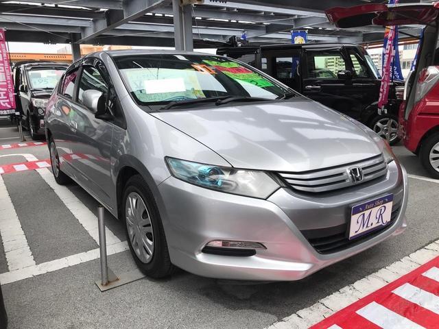 沖縄県沖縄市の中古車ならインサイト L キーレス アイドリングストップ ナビ TV Bluetooth バックカメラ