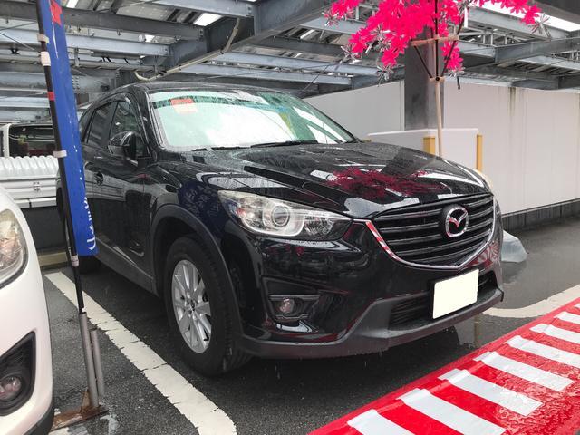沖縄の中古車 マツダ CX-5 車両価格 115万円 リ済込 2013(平成25)年 8.9万km ジェットブラックマイカ
