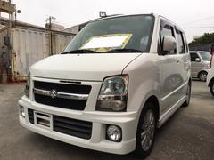 沖縄の中古車 スズキ ワゴンR 車両価格 35万円 リ済込 平成19年 9.4万K パールホワイト