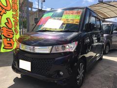 沖縄の中古車 スズキ パレットSW 車両価格 49万円 リ済込 平成22年 11.5万K ミステリアスバイオレットパール