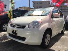 沖縄の中古車 トヨタ パッソ 車両価格 38万円 リ済込 平成23年 8.6万K パールホワイトI